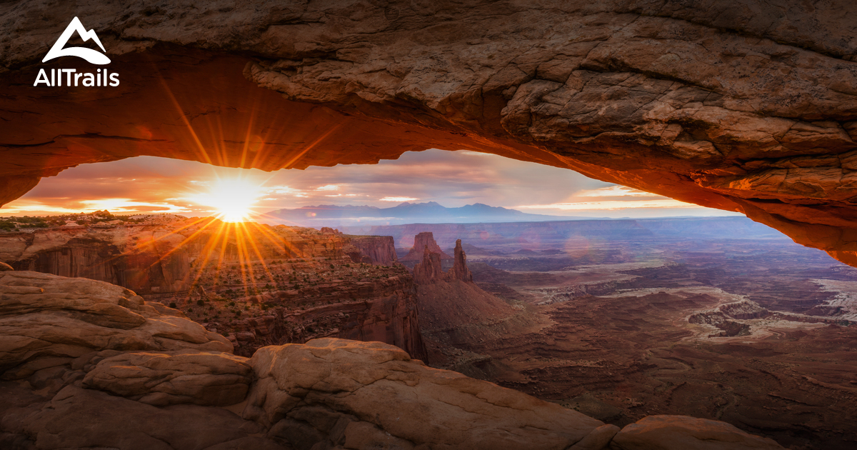 Image Result For Canyonlands National Park Hiking Map