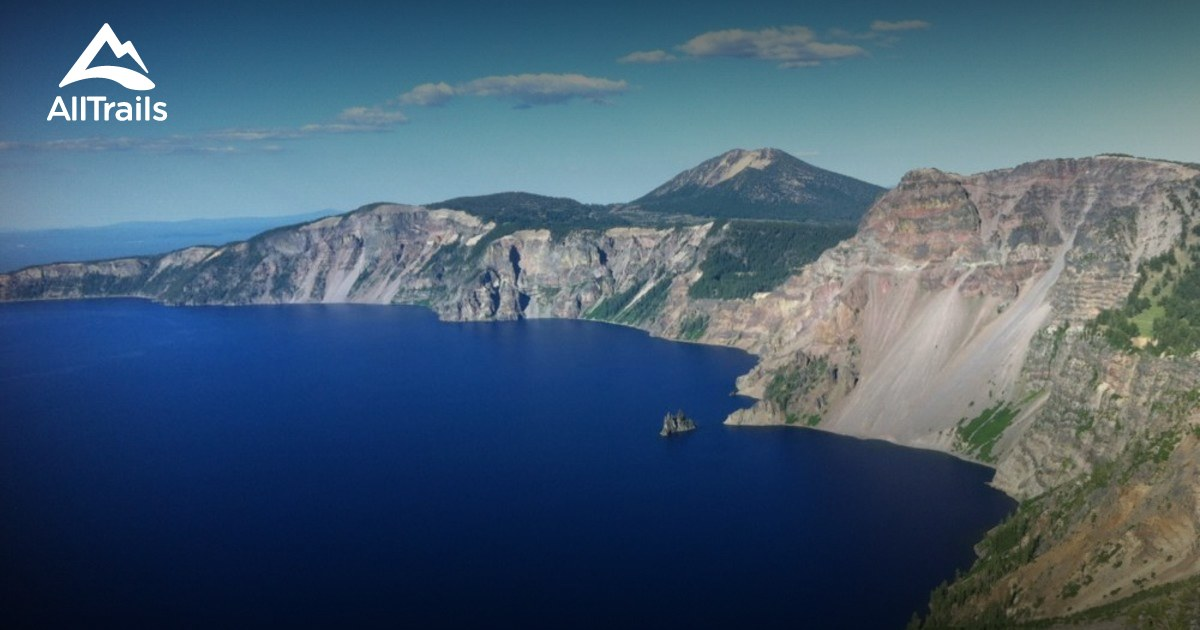 Best Trails In Crater Lake National Park AllTrailscom - Crater lake on us map