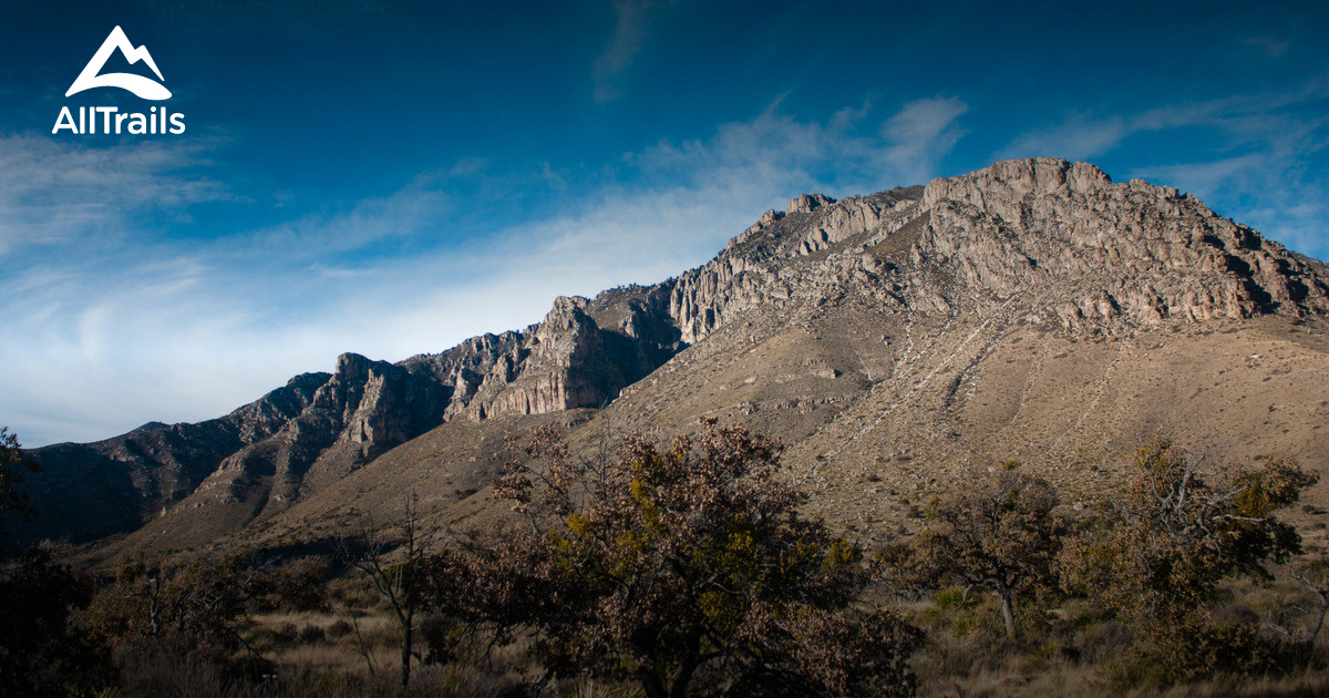 Best Trails In Guadalupe Mountains National Park Photos - Texas national parks