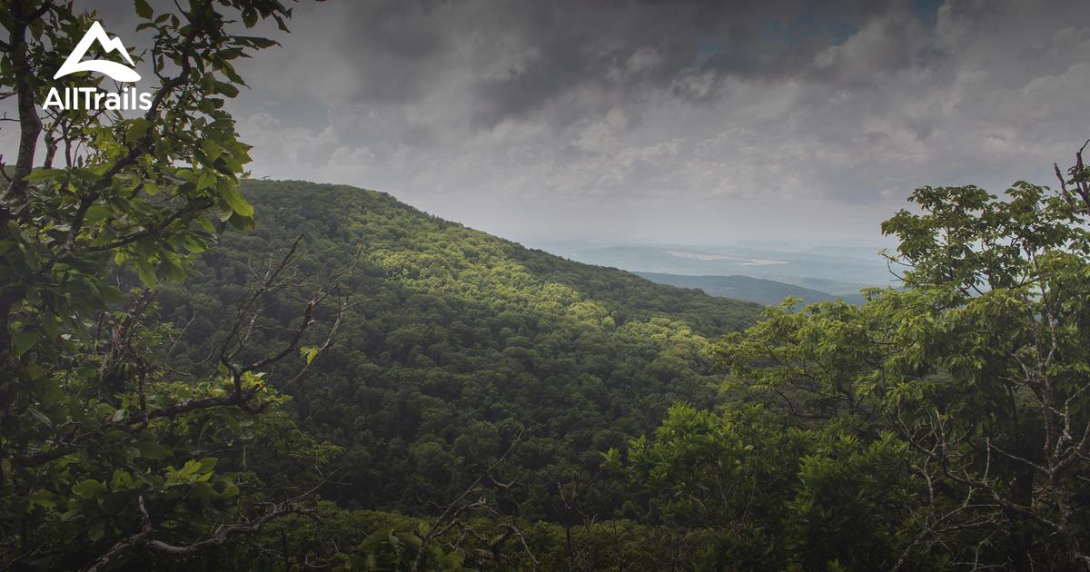 Best Trails In Mount Magazine State Park Arkansas