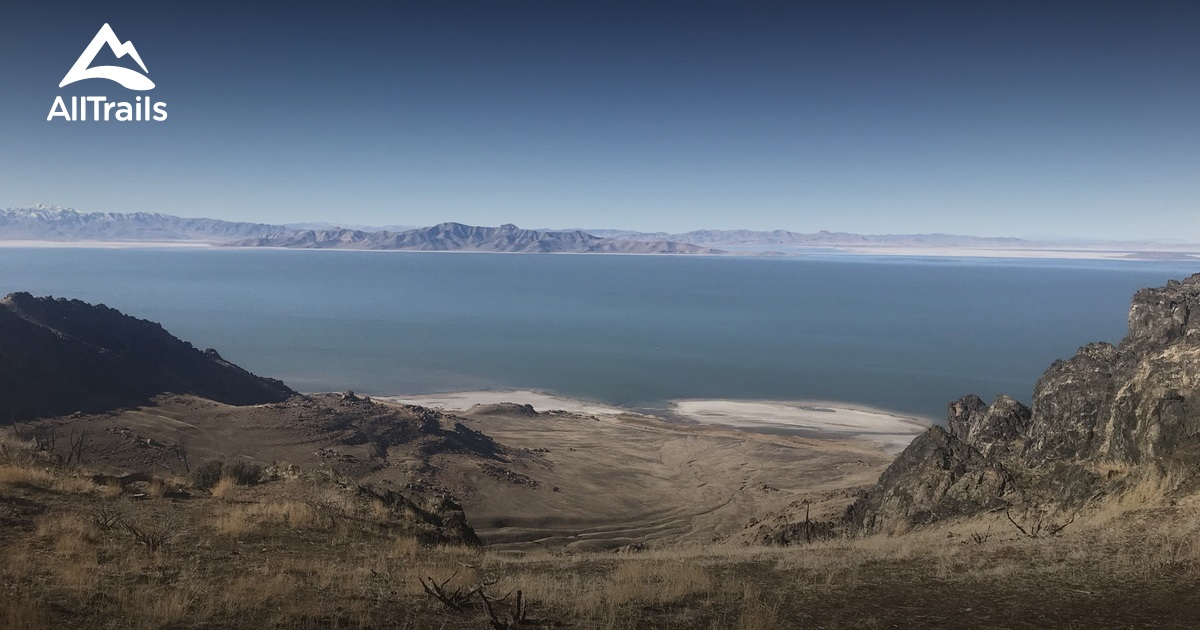 Antelope Island State Park Trail