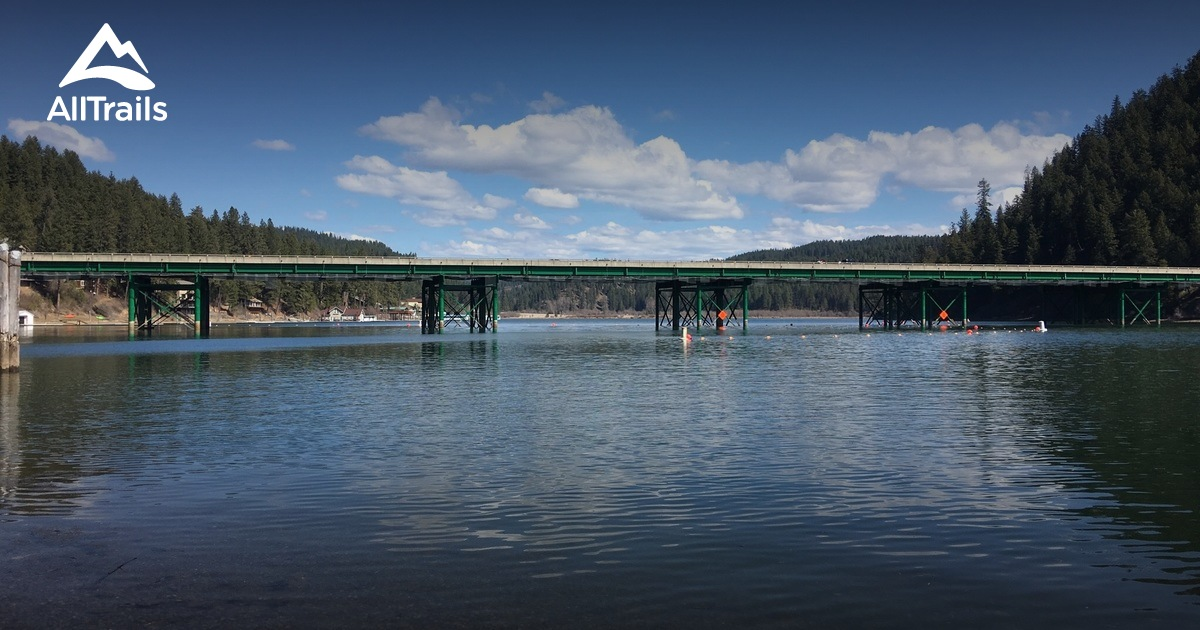 Best Trails in Coeur d'Alene Parkway State Park - Idaho