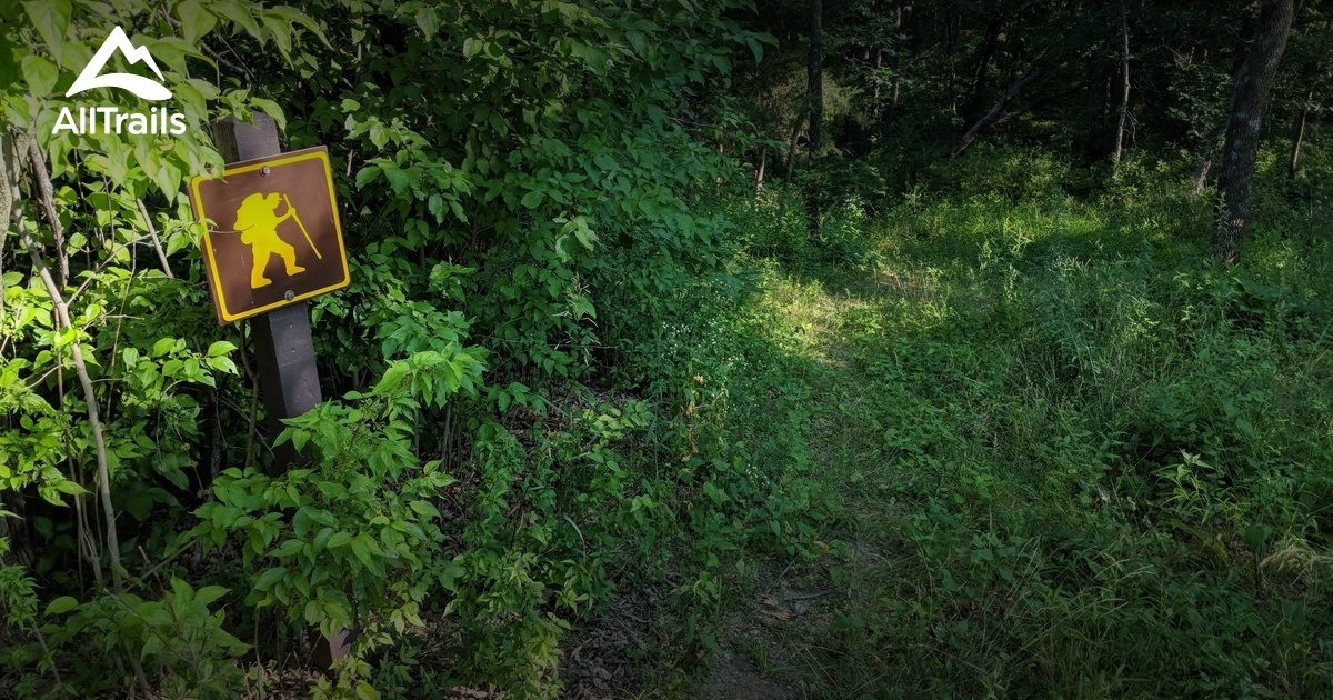 Best Trails In Nine Eagles State Park Iowa Alltrails