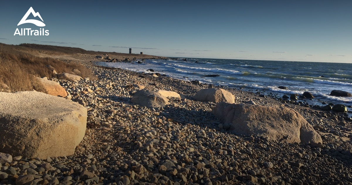 Best Trails In Horseneck Beach State Reservation