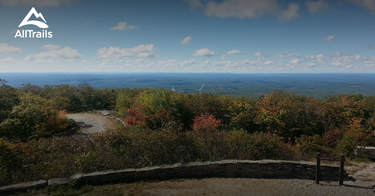 Best Trails In Wachusett Mountain State Reservation