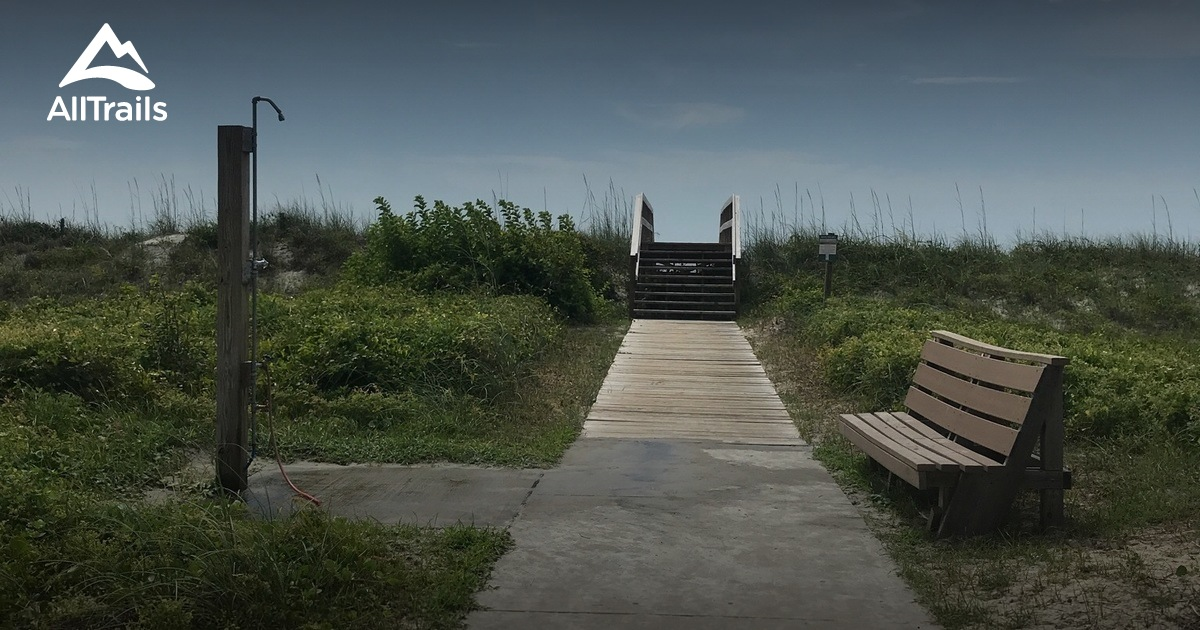Best Trails in Myrtle Beach State Park - South Carolina ...