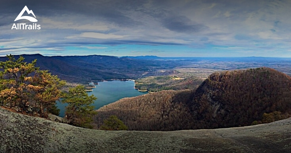 Best Trails In Table Rock State Park South Carolina