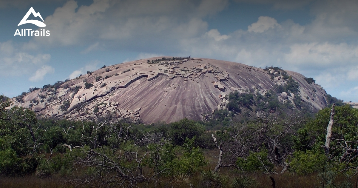 Best Trails In Enchanted Rock State Natural Area Texas 306: Enchanted Rock State Park Map At Usa Maps
