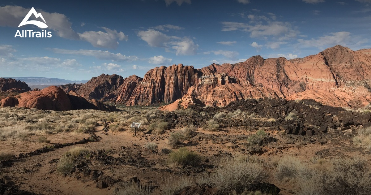 Best Trails in Snow Canyon State Park - Utah | AllTrails on recapture canyon ut map, bryce canyon ut map, fremont indian state park ut map, starvation state park ut map,