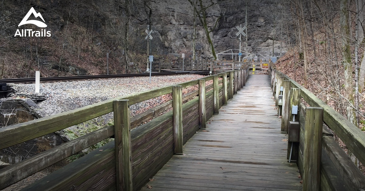 Best Trails In Natural Tunnel State Park Virginia