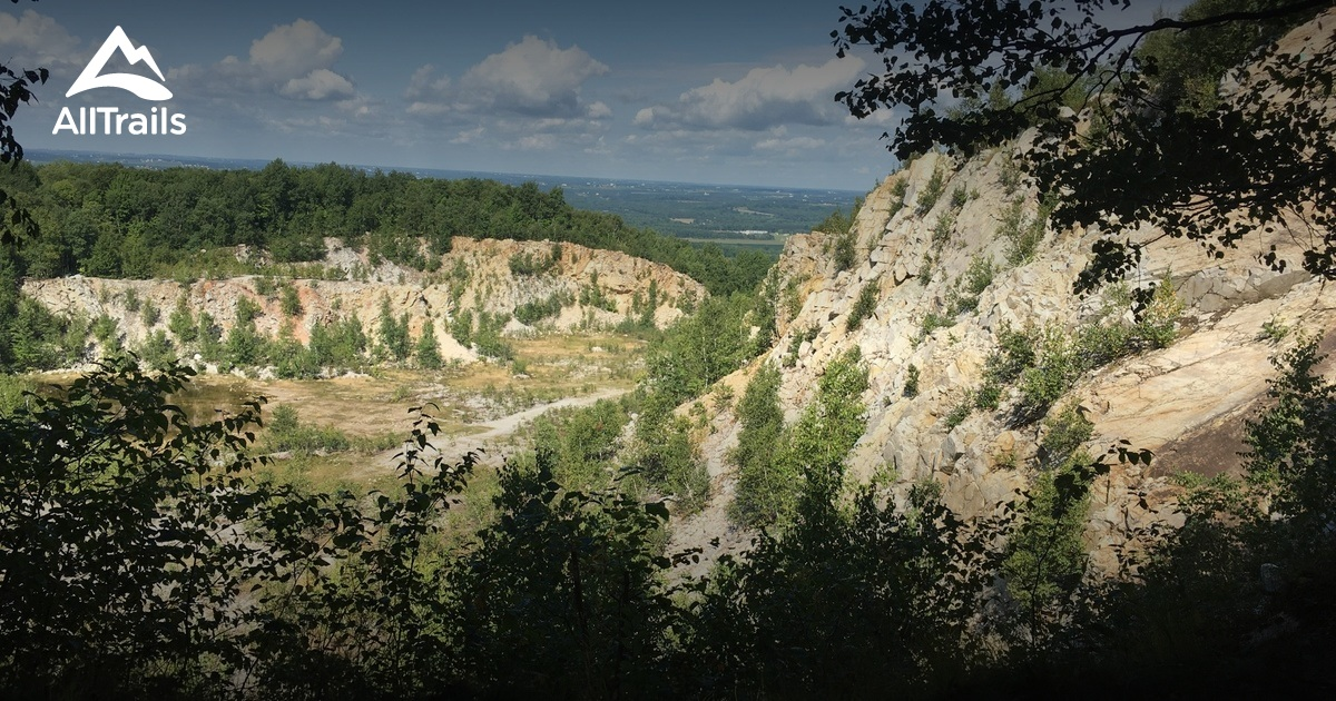 best trails in rib mountain state park