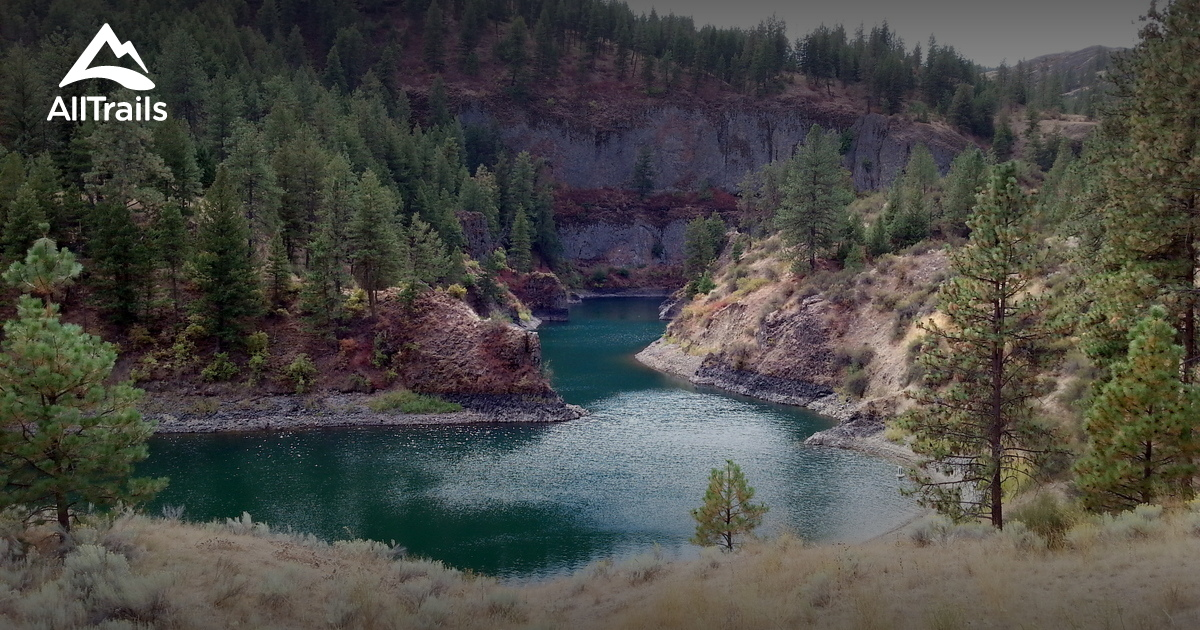 Best Trails In Lake Roosevelt National Recreation Area