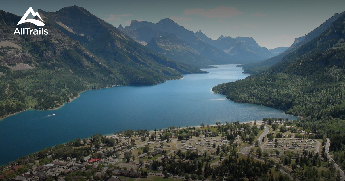 Best Trails In Waterton Lakes National Park Of Canada