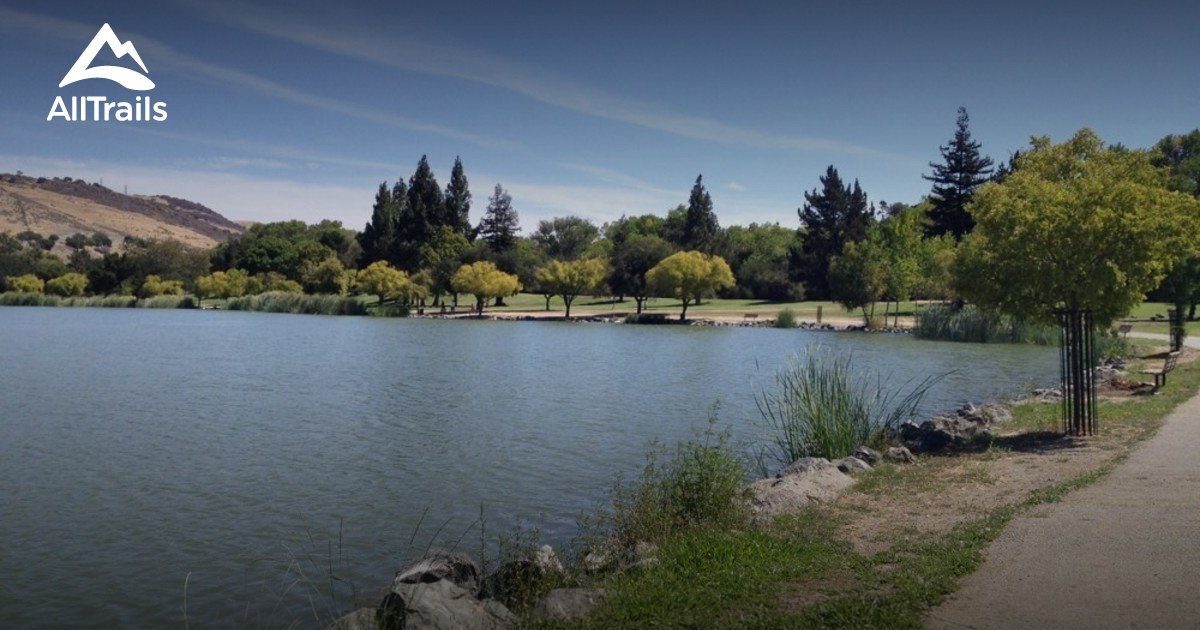 Best Trails In Hellyer County Park