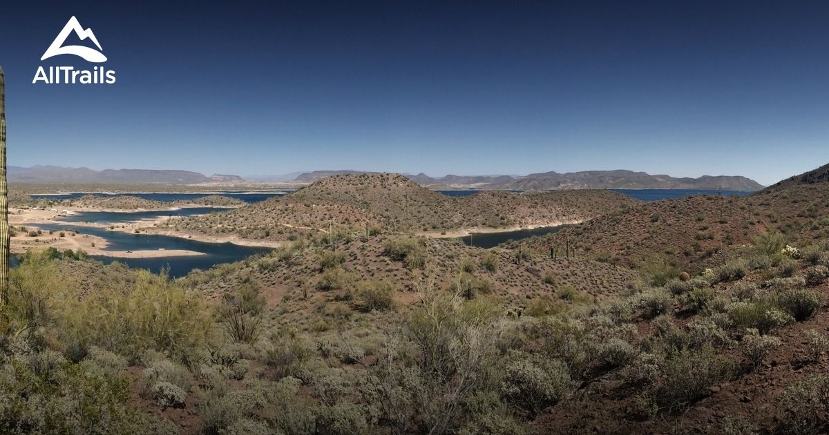 Best Trails In Lake Pleasant Regional Park Arizona 356