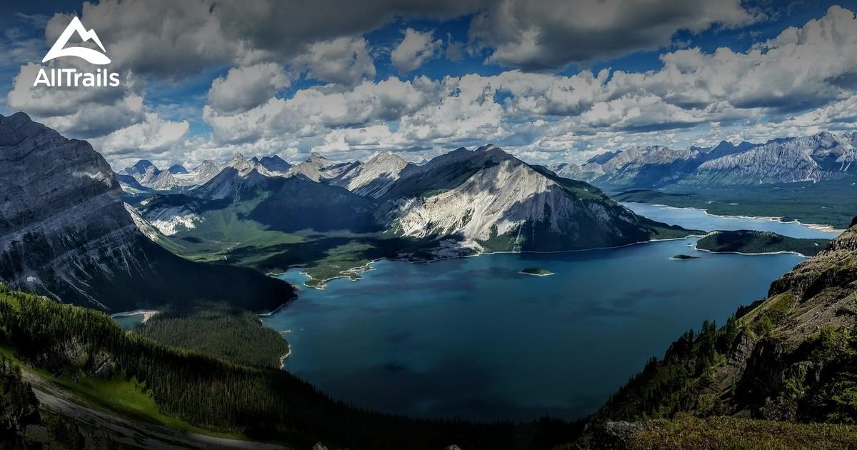 Best Trails In Peter Lougheed Provincial Park Alberta
