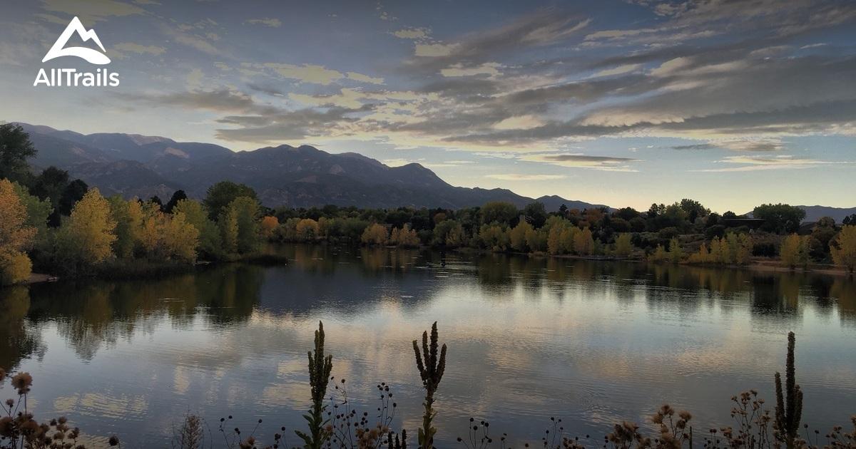 best trails in quail lake park