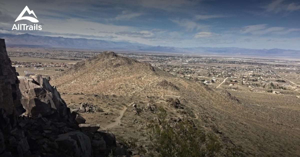 Best Trails In El Paso Mountains Wilderness California - El paso california