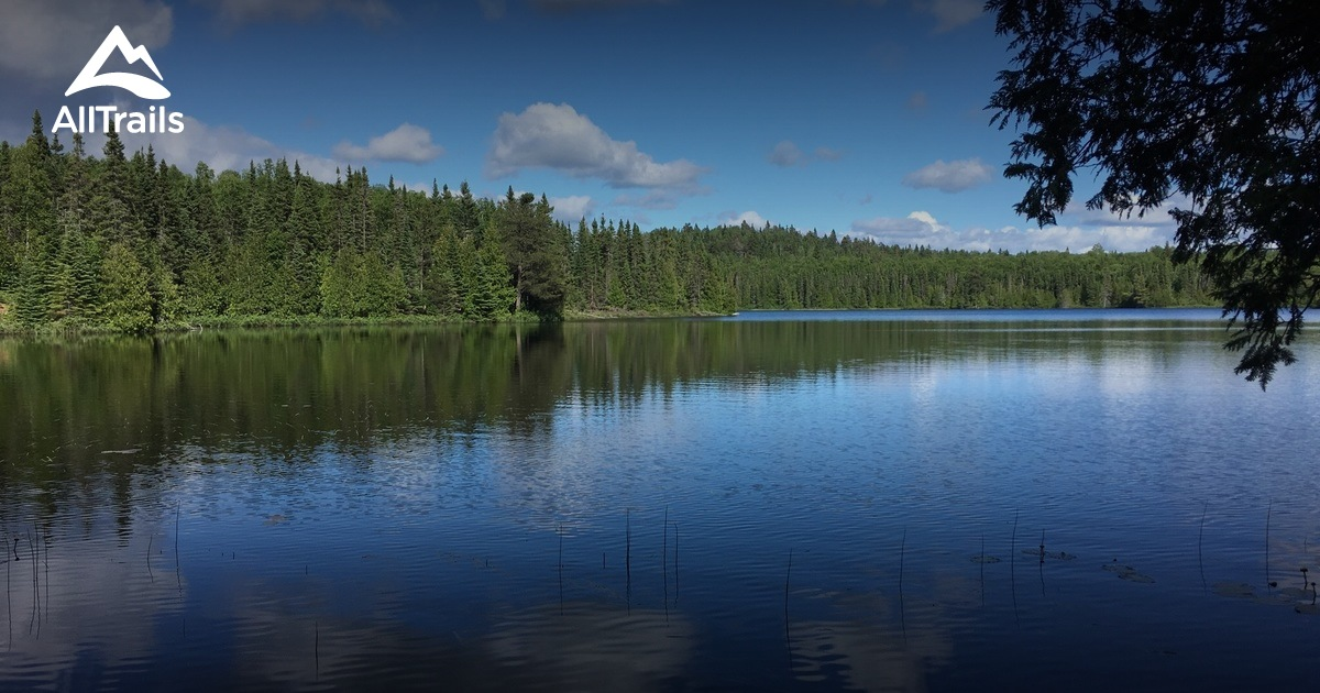 best trails in superior national forest