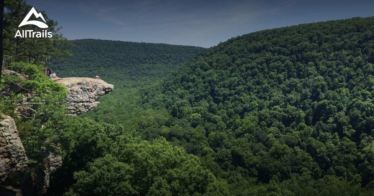 best trails in ozark national forest arkansas alltrails