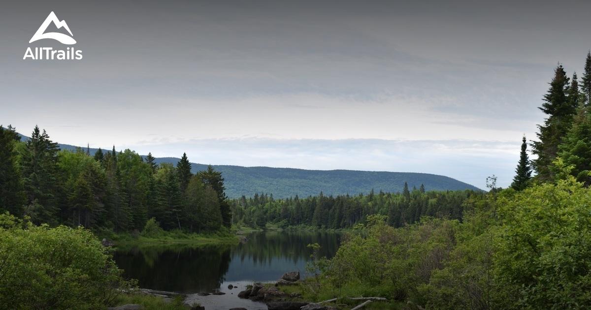 Best Trails in Appalachian Mountain Club 100 Mile Wilderness ... on
