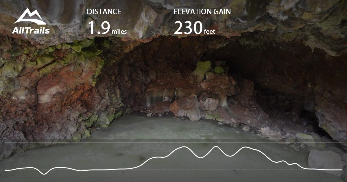 Ice Cave and Bandera Crater – Grants, New Mexico – Journey ...  |New Mexico Ice Caves