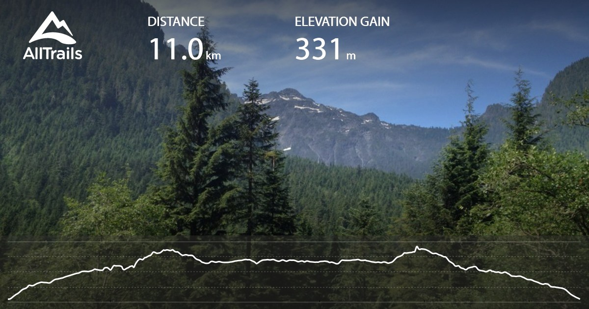 East Canyon Trail British Columbia Maps 18 Photos 16