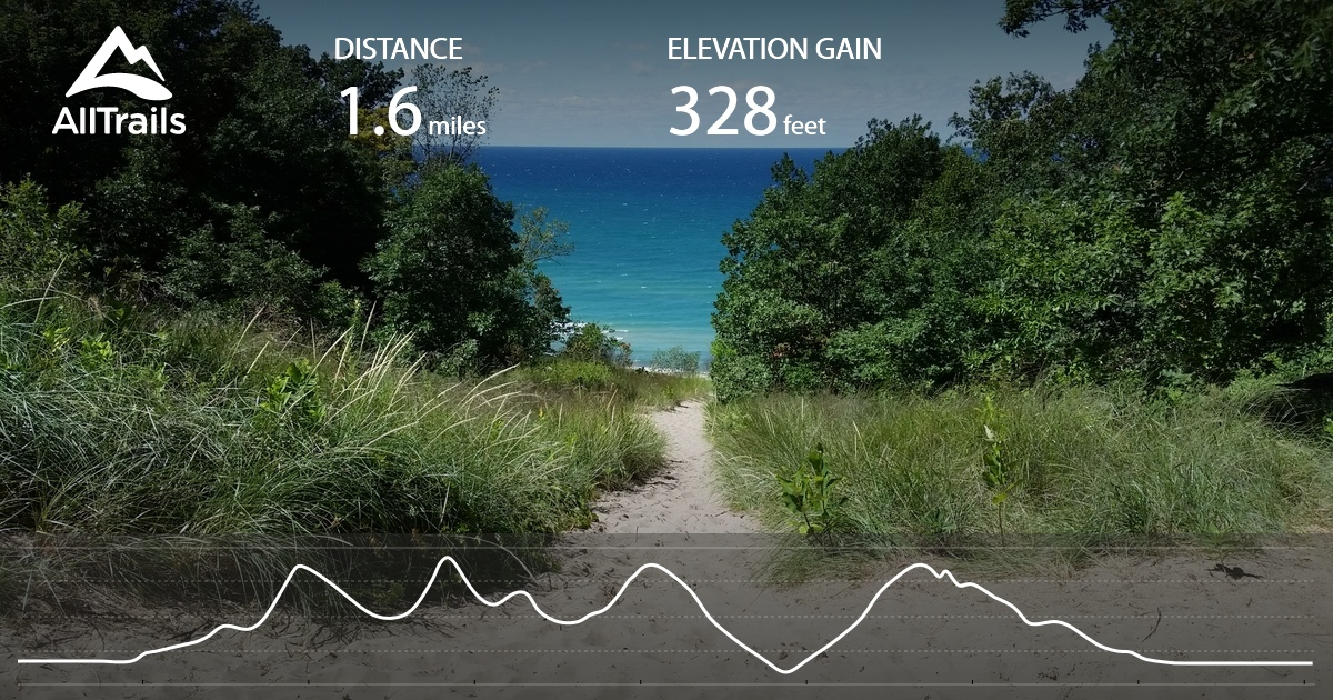 Indiana Dunes State Park Loop  Indiana  AllTrails