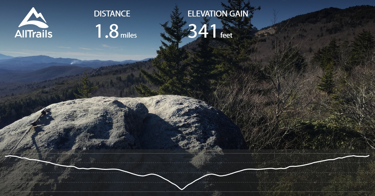 Stone Mountain Nc Elevation Gain : Black rock nature trail north carolina alltrails