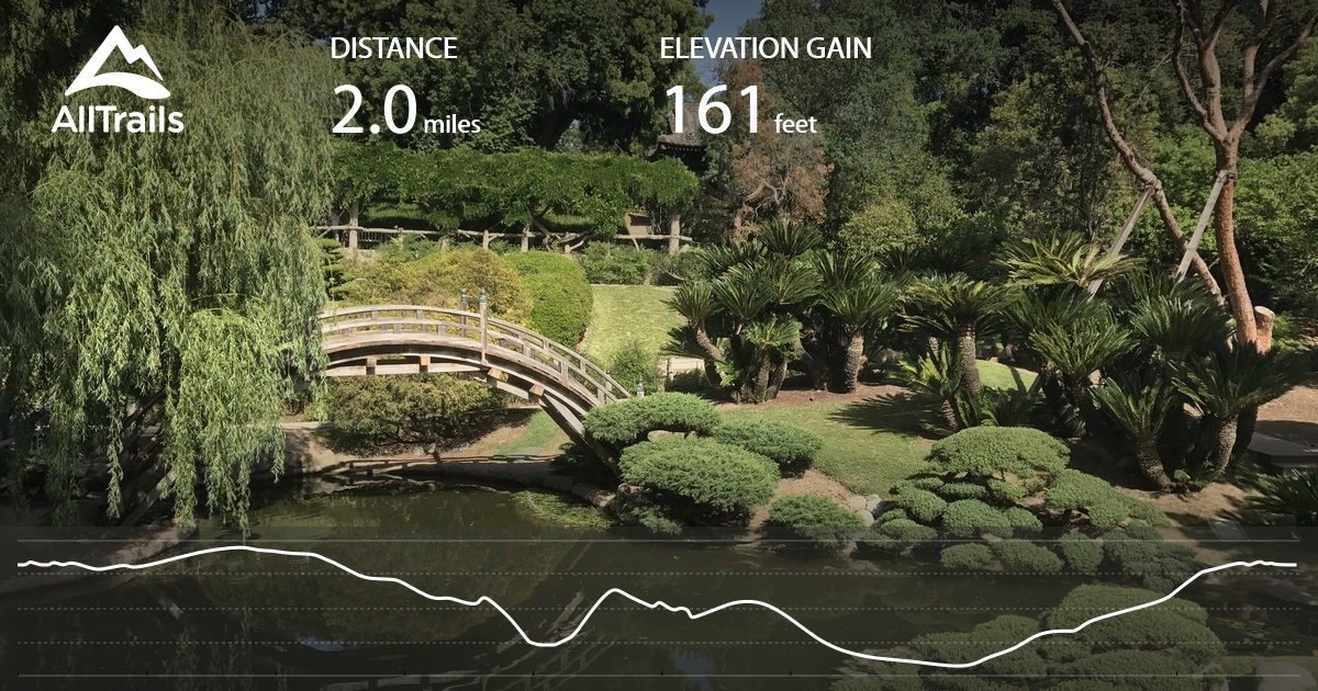 Huntington Library and Gardens Trail - California | AllTrails