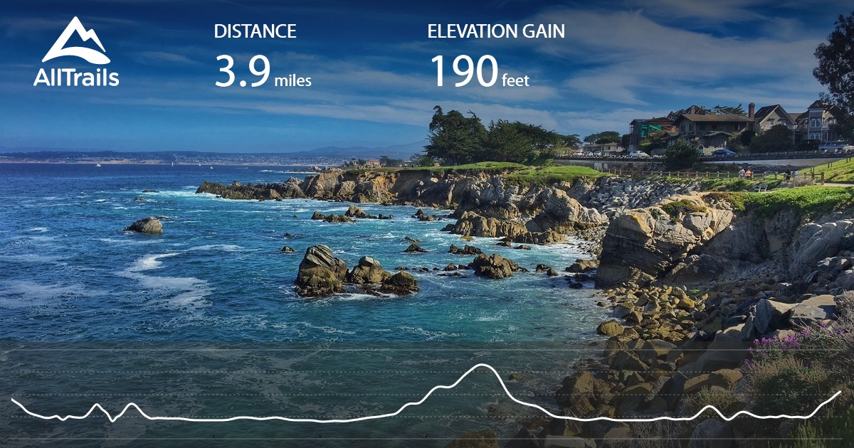 Monterey Peninsula Recreational Trail California AllTrailscom - Monterey on us map