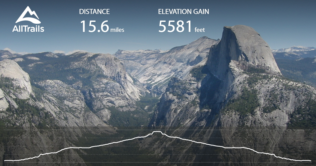 Half Dome Trail California Alltrails Com
