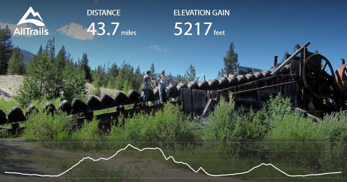 Payette National Forest Atv Loop From Ruby Meadows Idaho