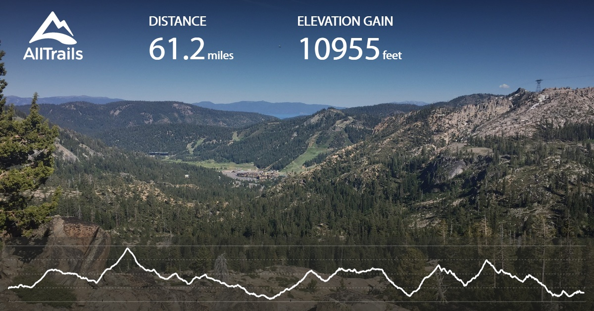 PCT: CA Section K - Echo Lake to Highway 80 - California ...