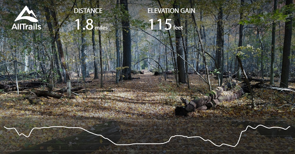 Aman Park Loop - Michigan | AllTrails Map Of Amun Parks In Usa on