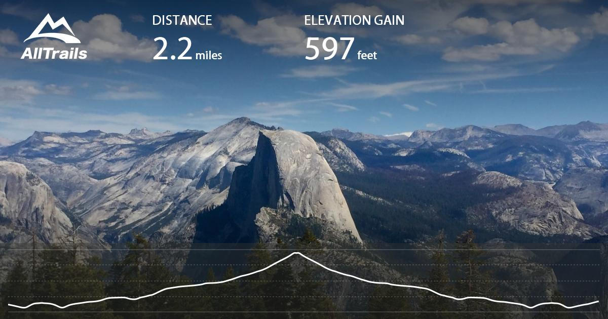 Sentinel Dome Trail California Alltrails Com