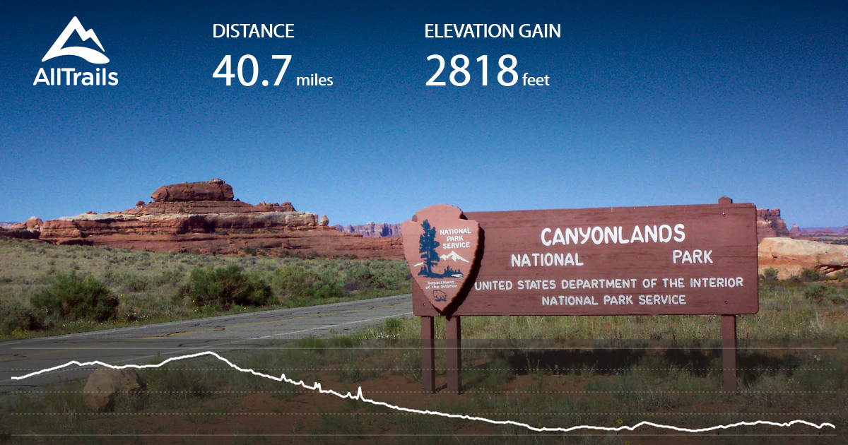 Indian Creek Scenic Byway Monticello to Needles District
