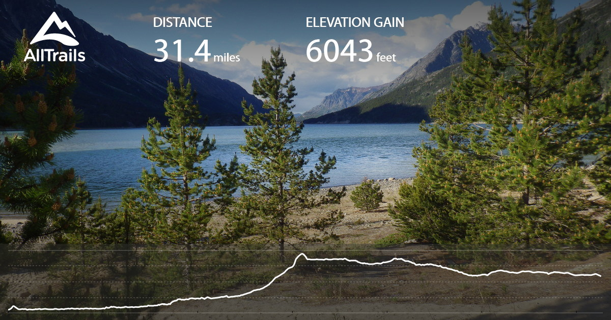 Chilkoot Trail Elevation Map.Chilkoot Pass Trail Alaska Alltrails