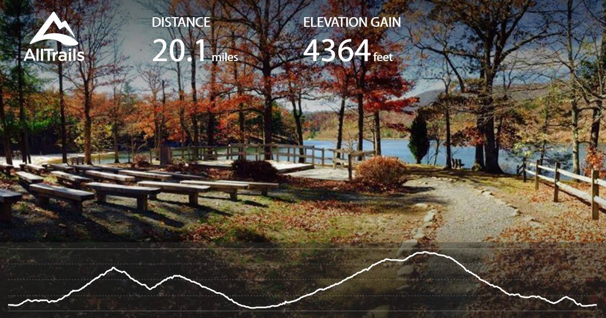 Douthat State Park Loop Virginia Maps 38 Pos 10 Reviews Alltrails