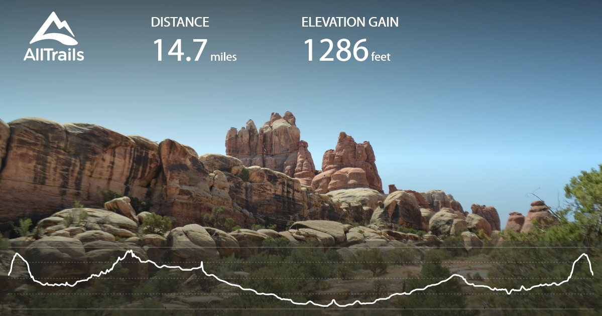 Confluence Overlook and Elephant Hill Trail Loop - Utah   AllTrails