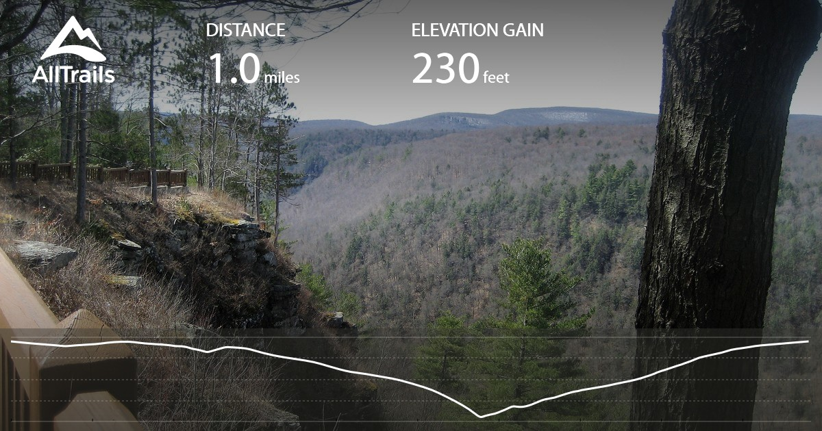 Grand Canyon of Pennsylvania Overlook Trail