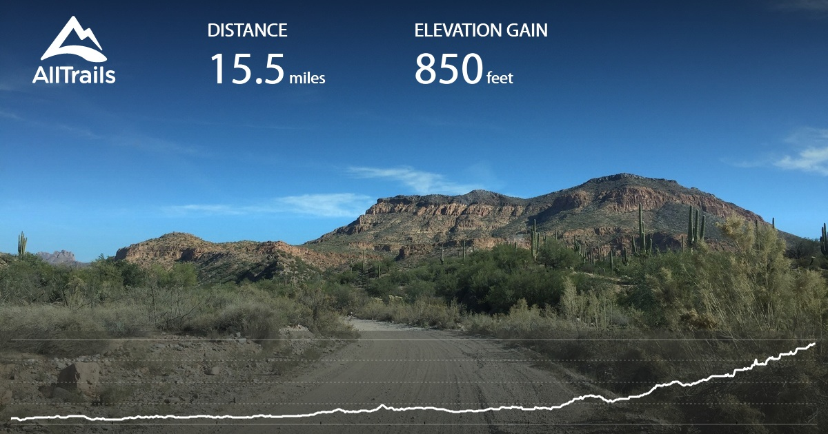 Box Canyon Scenic Drive: Florence to US 60 - Arizona | AllTrails