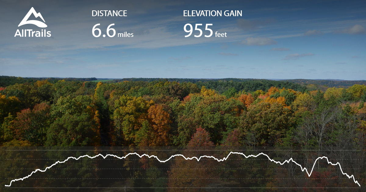 Mohican Trail 6 Mile Loop Ohio Maps 41 Pos 33 Reviews Alltrails