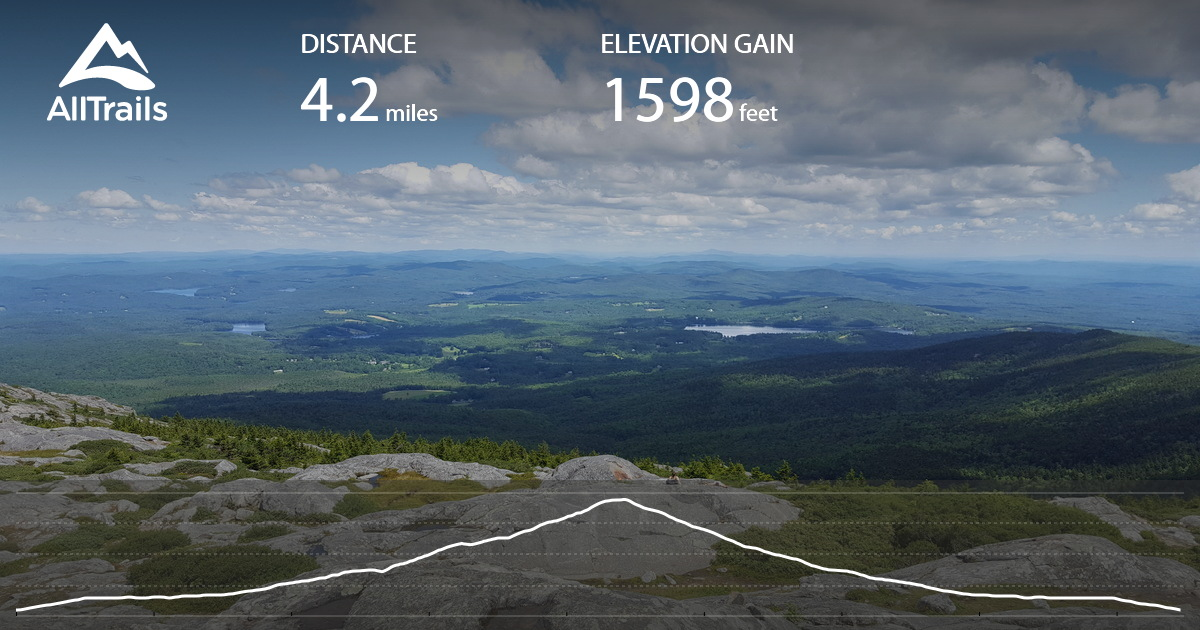 halfway house trail to mount rosa mount monadnock loop new