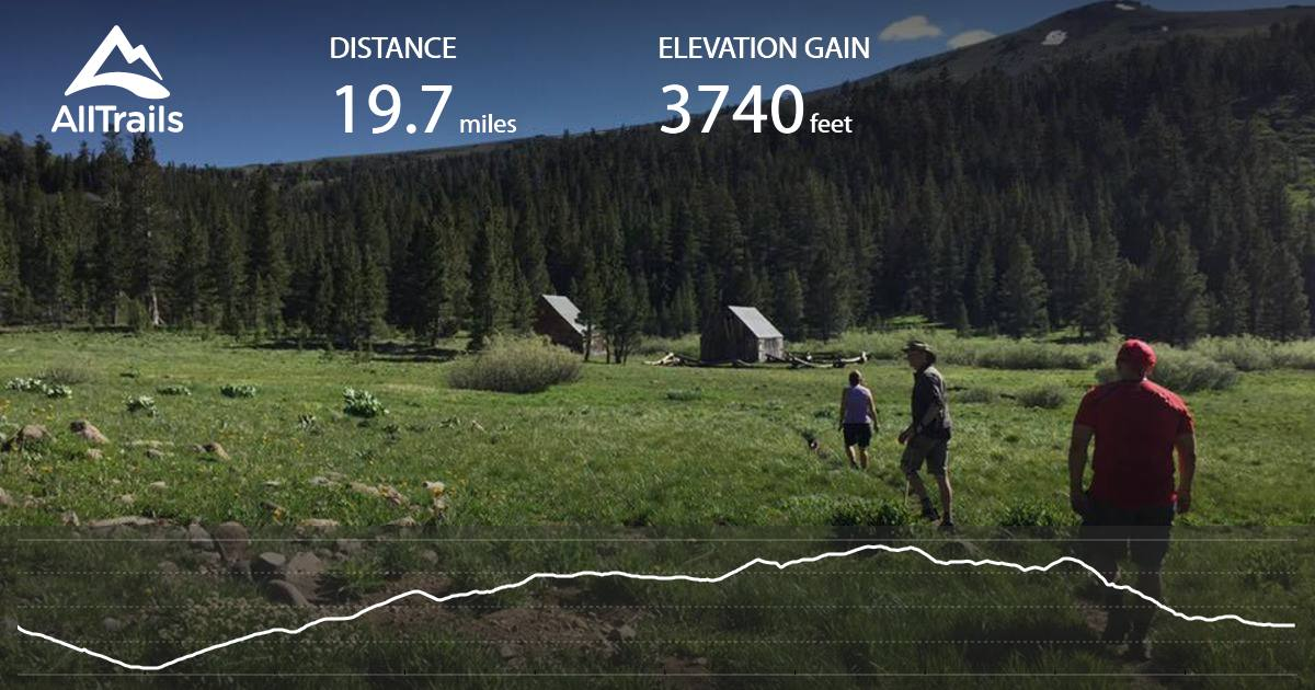 Tahoe Rim Trail Trt Big Meadow To Echo Summit Loop California Alltrails Com