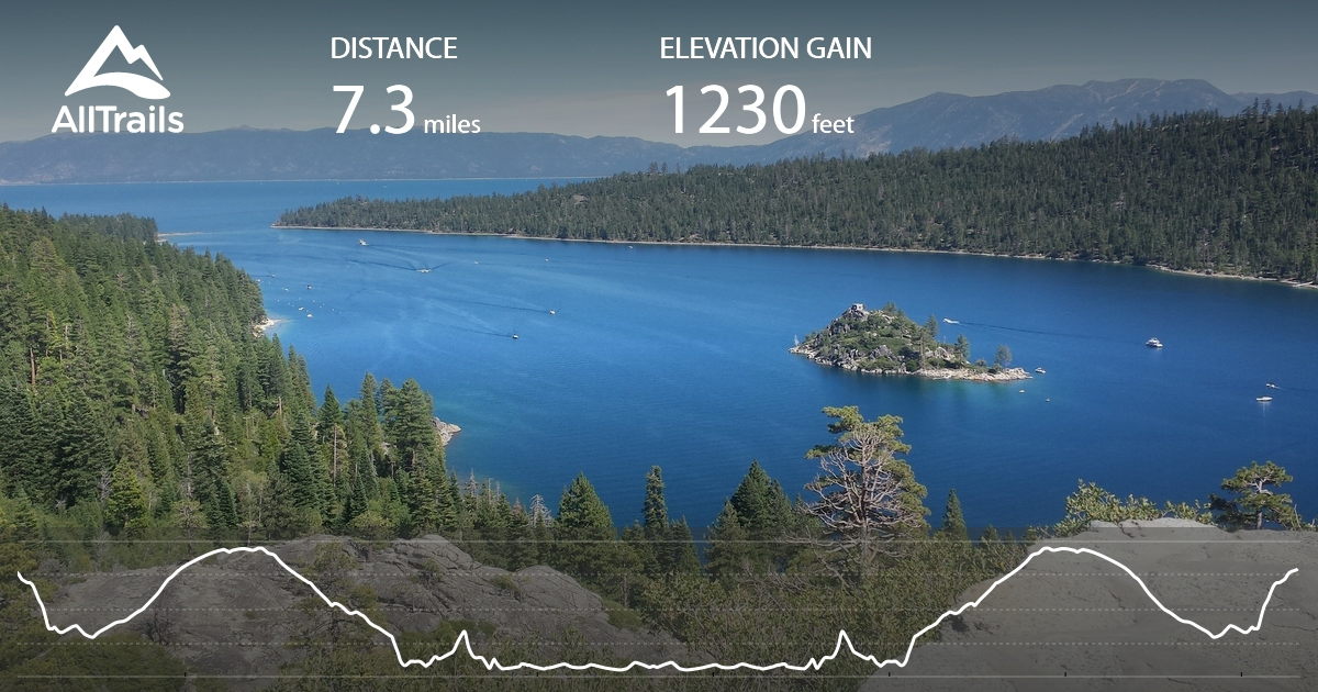 D L Bliss State Park To Emerald Bay State Park Via Rubicon Trail California Maps 44 Pos 29 Reviews Alltrails