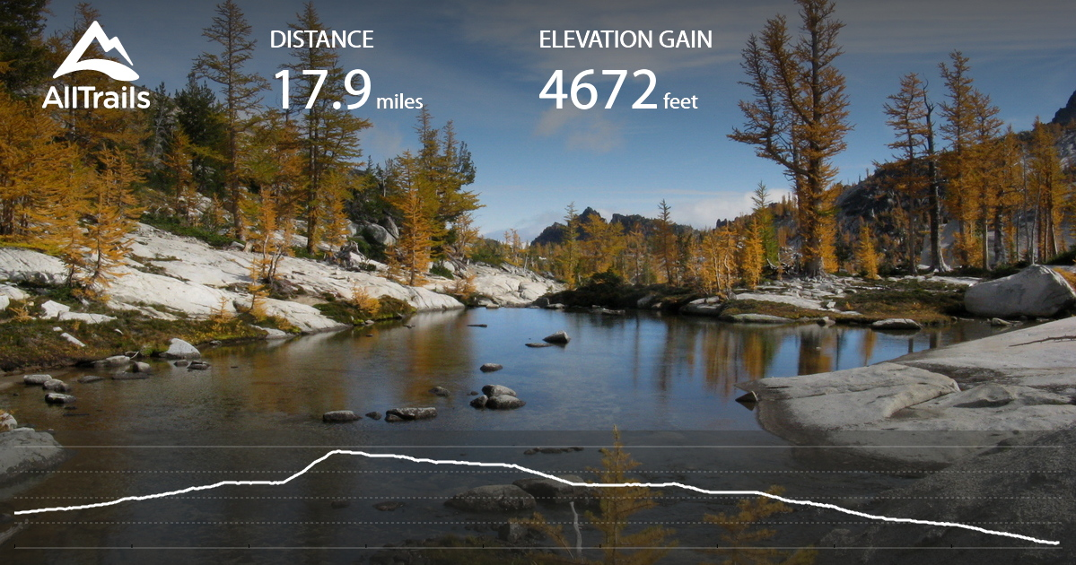 The Enchantments Trail - Washington | AllTrails