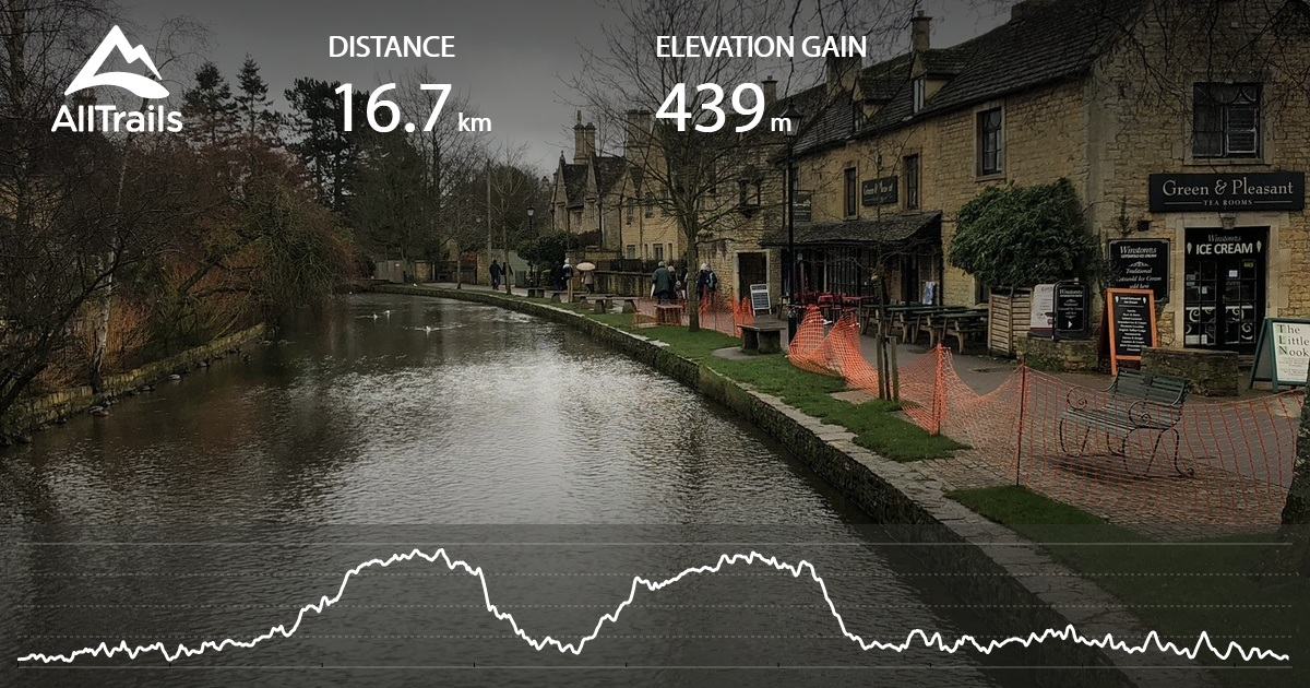 Bourton on the Water to Stow on the Wold Walk - Gloucestershire