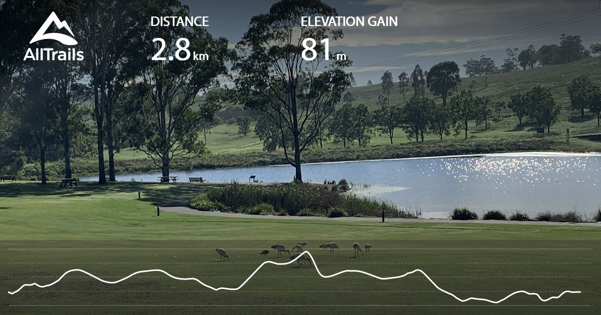 Image of: Mount Annan Central Valley Walk New South Wales Australia Alltrails