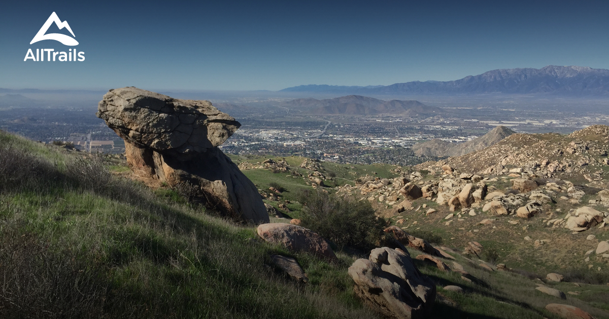 Best Trails near Moreno Valley California